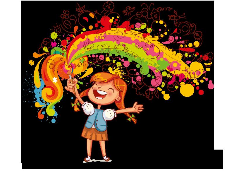 Activité artistique - dessins en couleur
